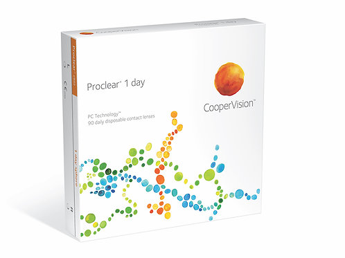Proclear 1 Day, 90er Pack (Tageslinsen)