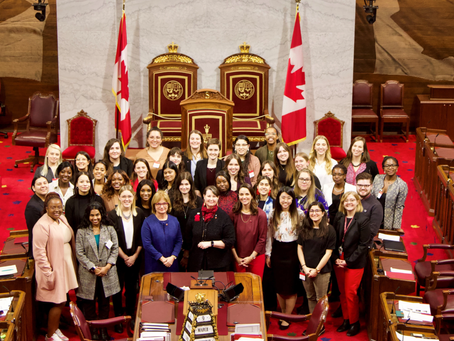 REPRESENTATION MATTERS: 6 YOUNG WOMEN PARTICIPATE AT A TWO-DAY FORUM AT PARLIAMENT