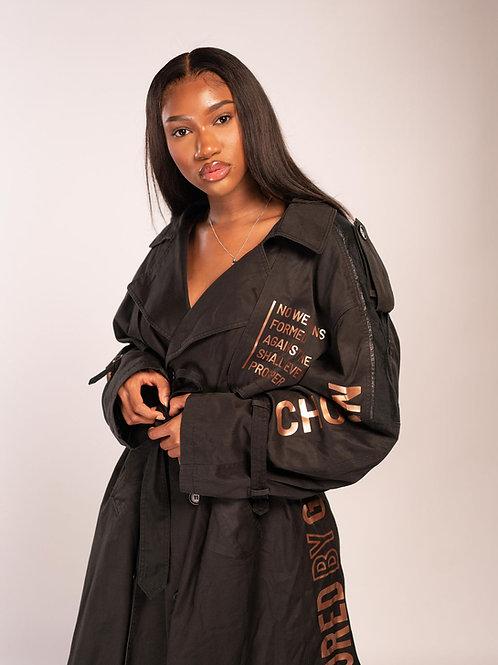 SBG-HSI Oversized trench coat
