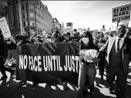 NO PEACE UNTIL JUSTICE PEACEFUL ANTI RACISM MARCH: A PROUD COLLABORATION.