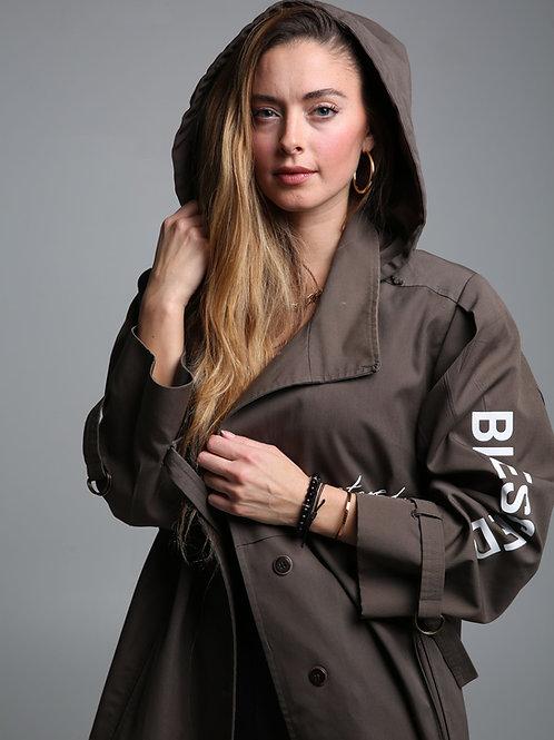 "SBG-HSI Oversized ""Restored"" trench coat"