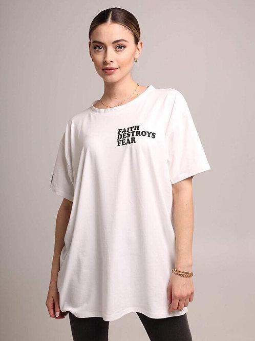 SBG HSII FAITH DESTROYS FEAR Oversized T-Shirt