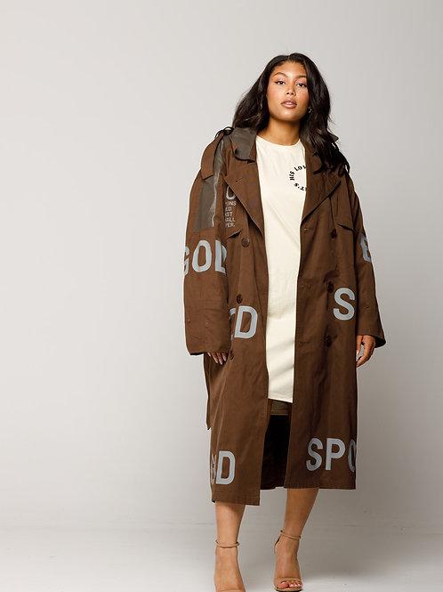 SBG-HSII Oversized trench coat