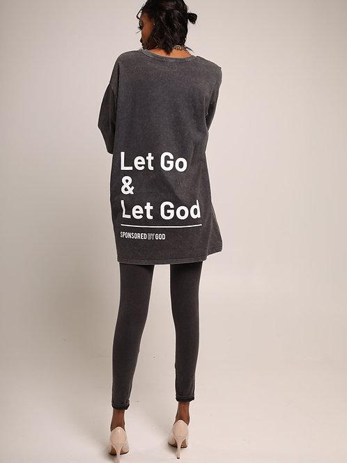 SBG HSII Let Go & Let God Oversized T-Shirt