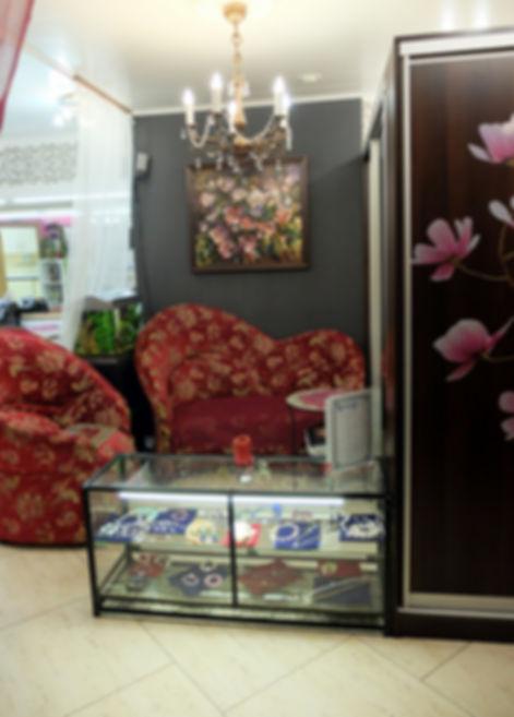 фото, салон красоты анелье, интерьер, дизайн, зона ожидания, анелье