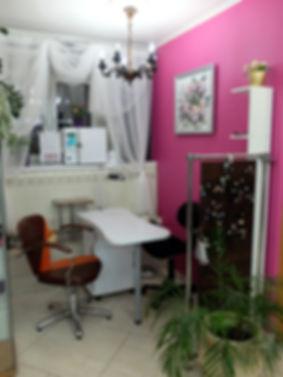 фото, салон красоты анелье, интерьер, дизайн, зона для маникюра