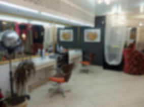 фото, салон красоты анелье, интерьер, дизайн, зона стрижки и покраски