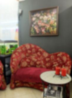 фото, салон красоты анелье, интерьер, дизайн, зона ожидания