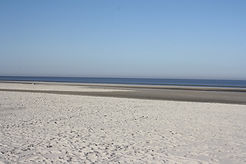 Strand von St. Peter Ording. Foto: Sabine Büscher 2020.JPG