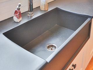 Today's Kitchen: Everything and the Farmhouse Sink...