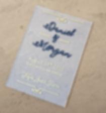 Acrylic Wedding Invitation | Shikamo Design
