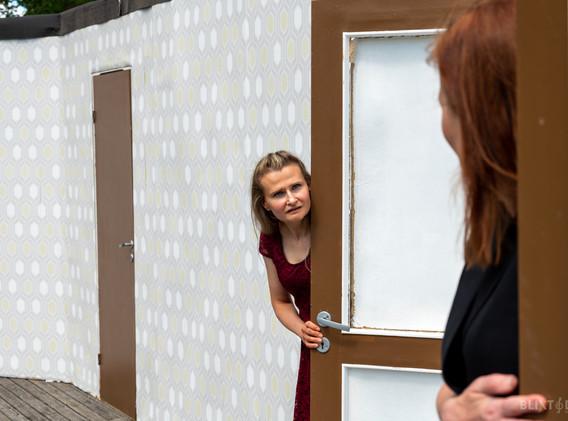 Anna Karpova och Anna Marolt Wadström