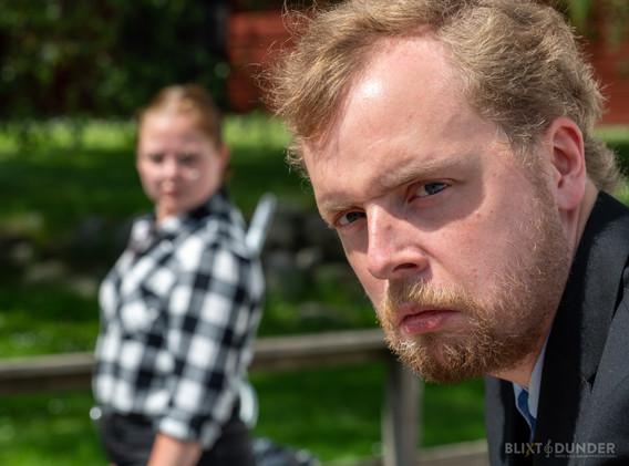 Moa Larsson och Max Jansson
