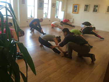 Master Yan Xin - Shaolin basics/ foundation training - Shaolin Kung Fu Ireland