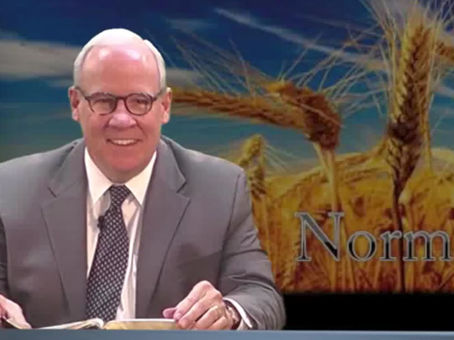 February 10, 2021 Just a Few More Minutes: Acts 8:26-29 - Dr. Norman Moore