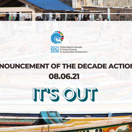 The UESCO announces the Ocean Decade's first endorsed Decade Actions