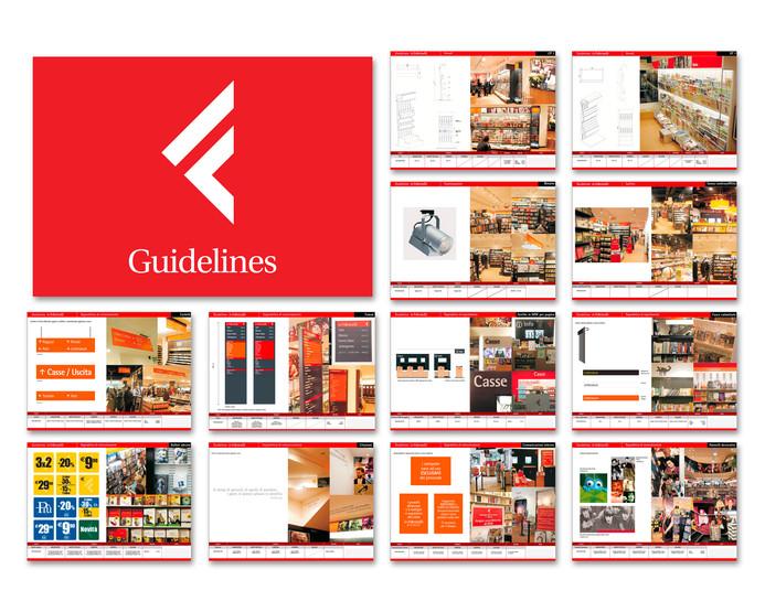 Guidelines store La Feltrinelli