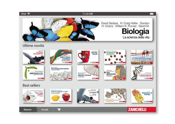 Home page app per ipad