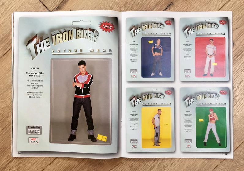 Up magazine di moda