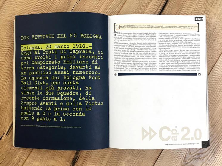 Libro anniversario 90 anni Bologna F.C.