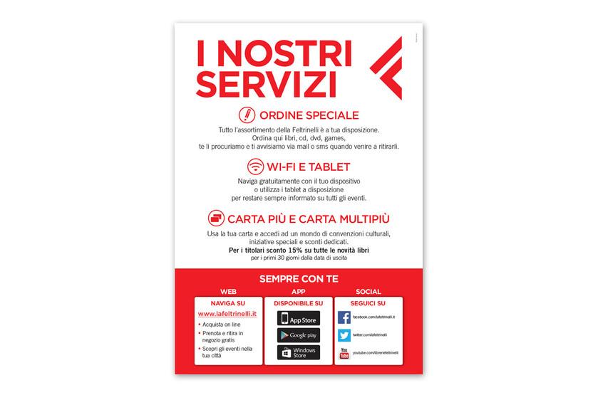 Poster servizi punto vendita