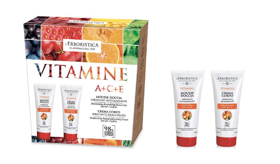 Scatola in cartone Vitamine