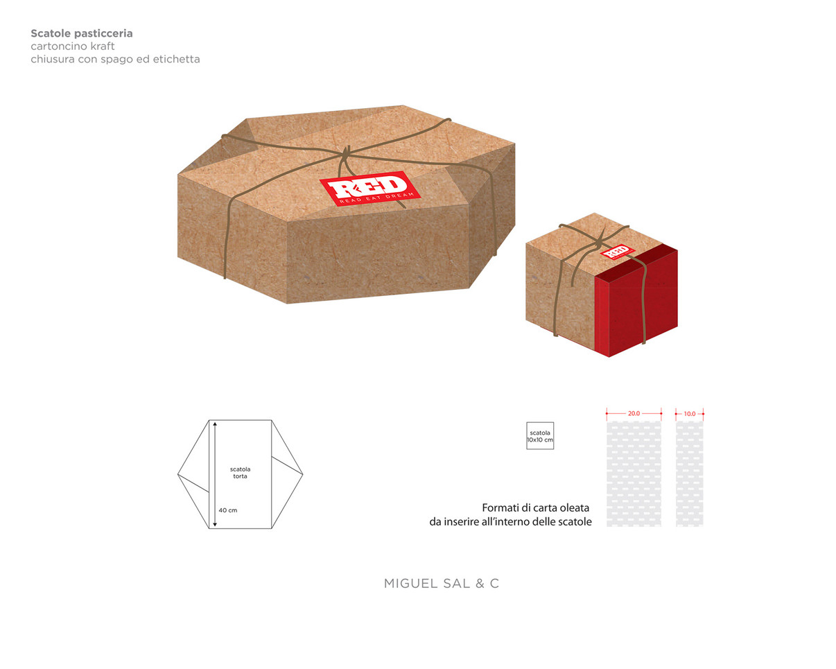 packaging asporto