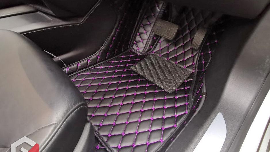 L Grade - 極尚頂級PU皮地毯 (七人車)