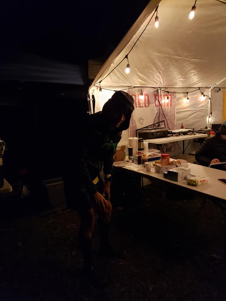 Backlit trail runner