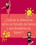 ¿Cuál es la diferencia entre un Estudio de Danza y una Academia de Danza?