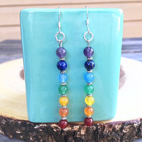 Chakra Healing Earrings