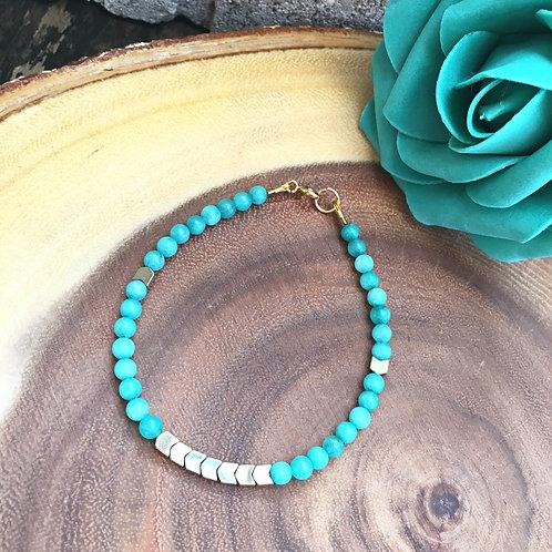 Jasper & Hematite Healing Bracelet
