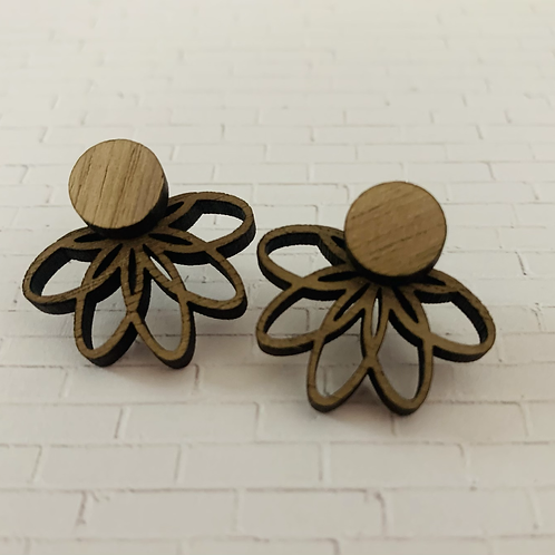 Lotus Earring Jacket
