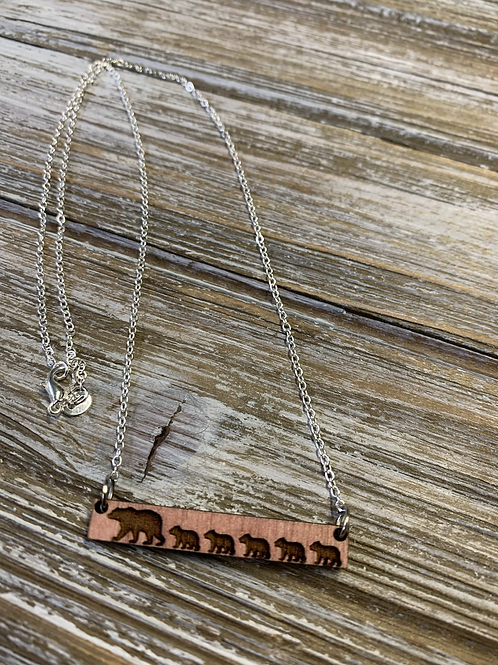 Mama Bear Necklace (available 1-5 Cubs)