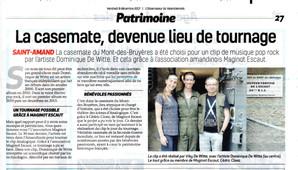 PRESSE - L'OBSERVATEUR DU VALENCIENNOIS - 08/12/2017
