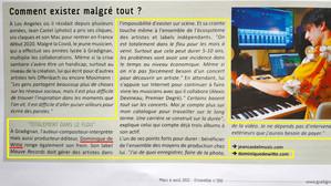 PRESSE - Magazine municipal ENSEMBLE GRADIGNAN - 22/02/2021