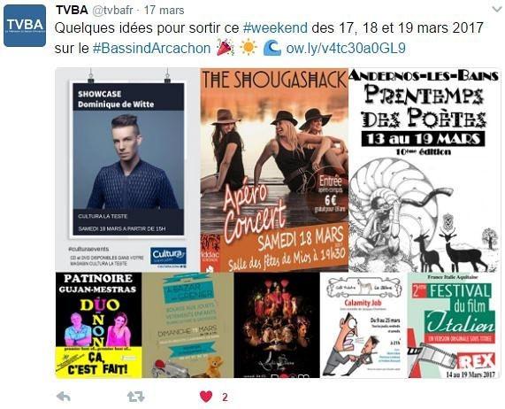 Dominique de Witte - TVBA - 17.03.2017 - SUPERNOVA TOUR - PRESSE