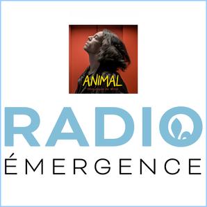 "PODCAST - Mon single ""ANIMAL"" sur RADIO ÉMERGENCE - Québec"