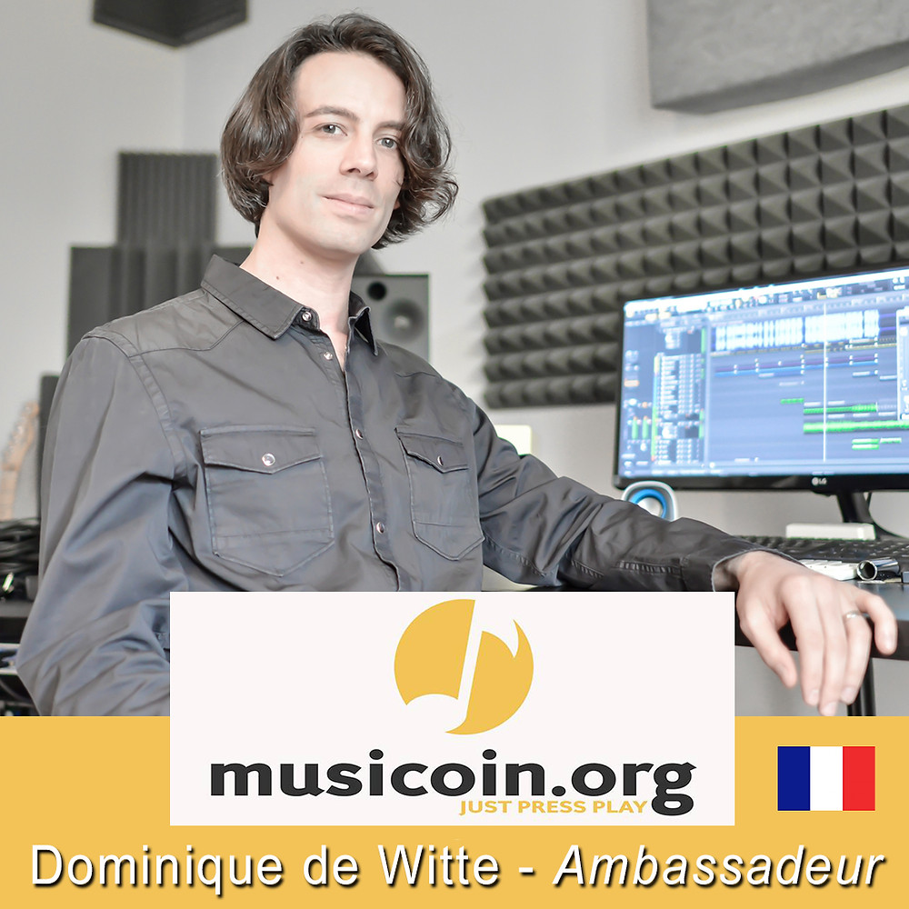 Dominique de Witte - Ambassadeur MUSICOIN - France