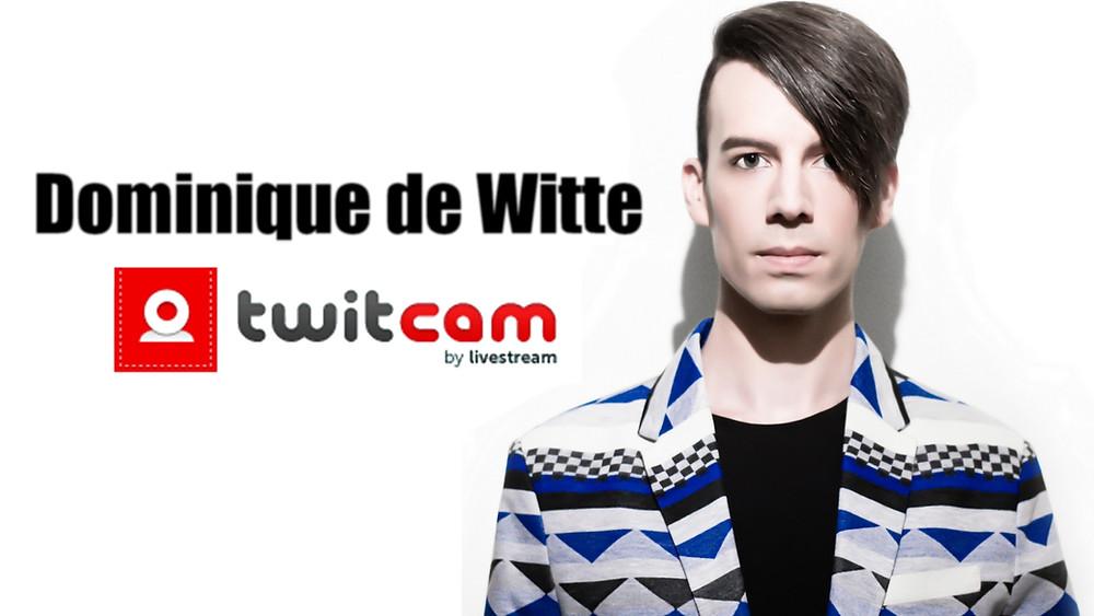 Dominique de Witte - twitcam