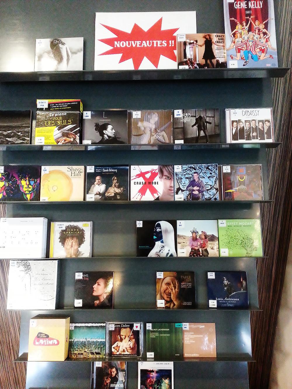 Dominique de Witte - Albums CRASH MODE et SUPERNOVA disponibles à la Médiathèque Jean Vautrin - 33170 GRADIGNAN - POP ROCK MUSIQUE