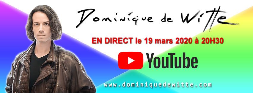 Dominique de Witte - En direct sur YouTube