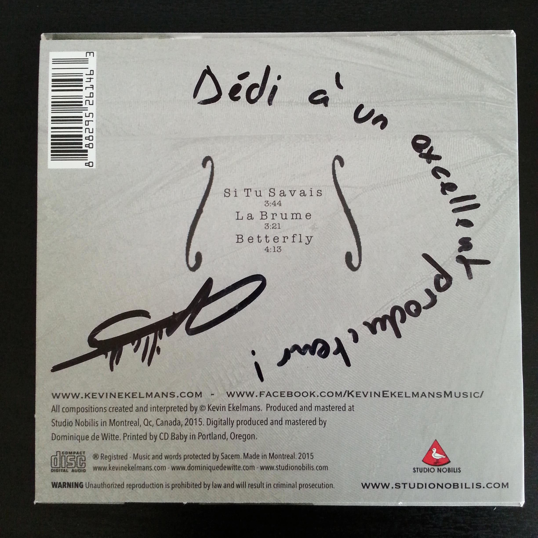Kévin Ekelmans / CD - STUDIO NOBILIS