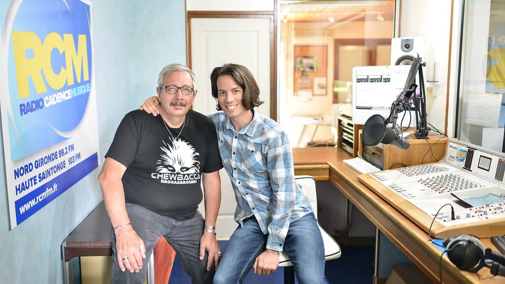 Claude Béranger et Dominique de Witte - INTERVIEW spéciale MUSICOIN - BLOCKCHAIN et CRYPTOMONNAIE - RADIO CADENCE MUSIQUE - 28 mai 2018 - CERCOUX