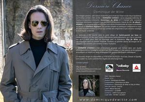 """Mon single """"DERNIÈRE CHANCE"""" est disponible pour les radios sur postedecoute.ca"""