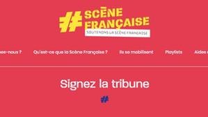 Faites comme moi, signez la tribune #SceneFrancaise !