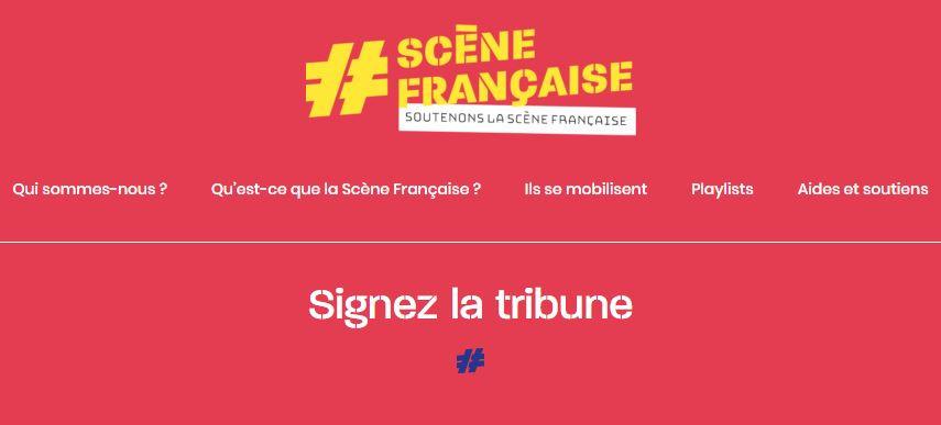 Dominique de Witte - SceneFrancaise - Signez la tribune & soutenons la scène Française