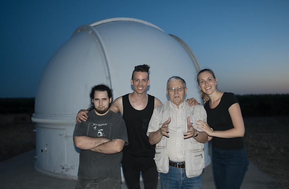 Jeremy Penisson, Dominique de Witte, Gilbert Courier, Viky de Witte - AED CESTAS