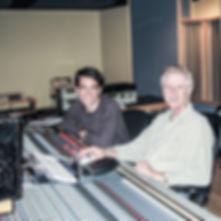 Dominique de Witte et l'ingénieur du son Nelson Vipond (Jean Leloup, Harmonium...) TREBAS INSTITUTE