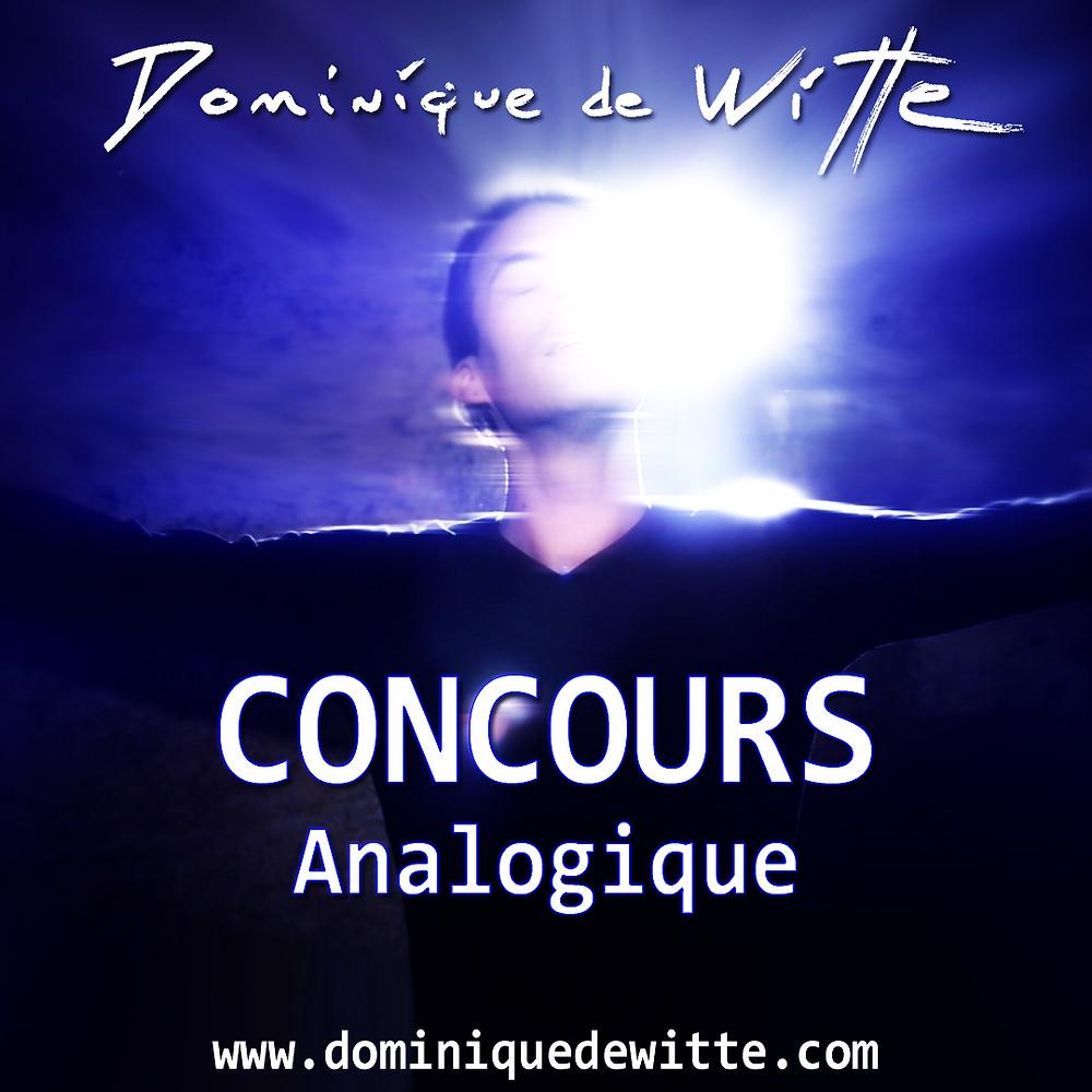 """Dominique de Witte - CONCOURS - Nouveau vidéoclip """"ANALOGIQUE"""" - 03.12.2017"""